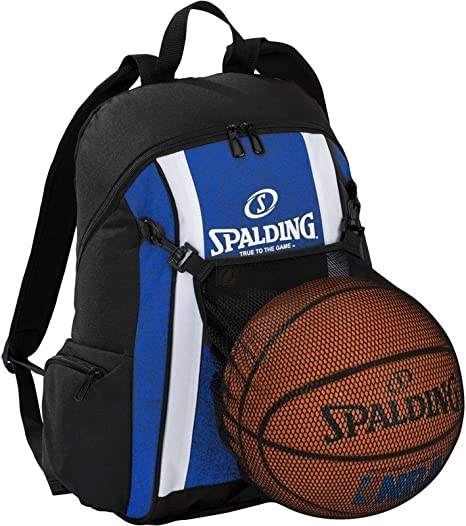 Spalding - Mochila de baloncesto, color azul y negro: Amazon.es ...