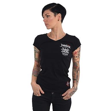 preiswert kaufen Vorschau von 60% günstig Yakuza Damen Tattoo Convention Dresden 2019 V-Neck T-Shirt ...