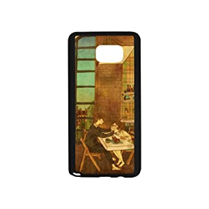Samsung Phone case [ Shock Resistant Series ] Galaxy s3 s4 s5 s6 Case Mini Samsung Note 2 3 4 5 6 Whole Covered Anti-Scratch Dust Proof Anti-Finger Luxury PC Cover Print Cover Beautiful Simplicity of Love(note 4)