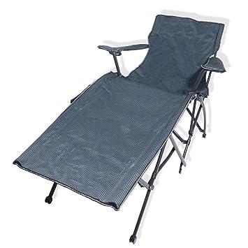 Tumbonas Chaise Lounge Camping Cama Plegable Portátil para ...