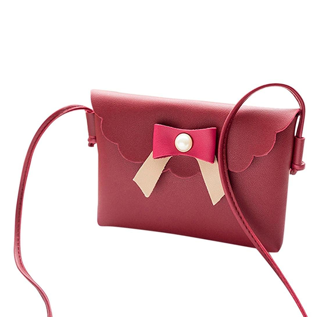 Lavany Womens Crossbody Bag PU Leather Shoulder Bag Messenger Bag For Phone Coin