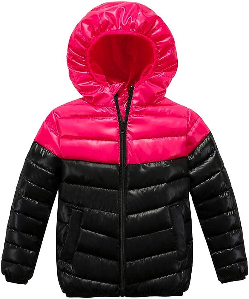 GorNorriss Baby Girl Coat Children Winter Warm Jacket Kid Zipper Thick Hoodie Outerwear Clothes