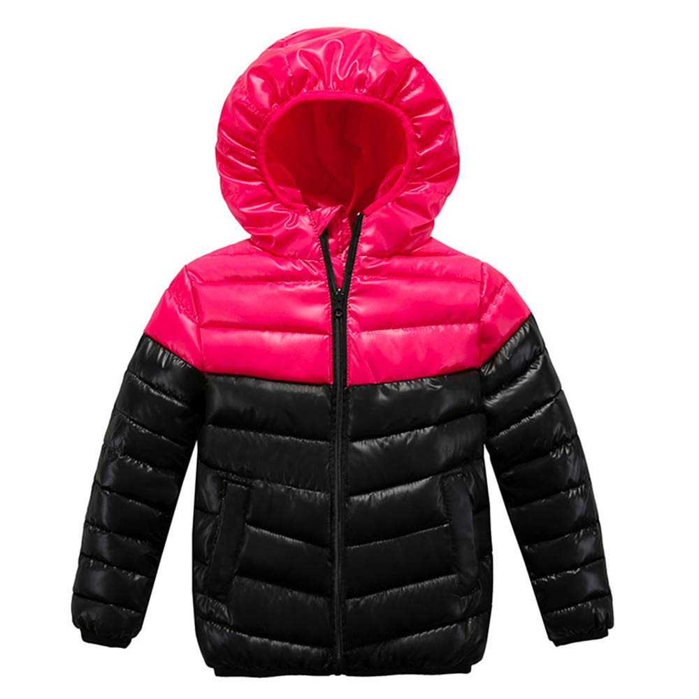 Baby Care Girls Boys Winter Warm Clothes Vest Blouse Thick Coat Outwear