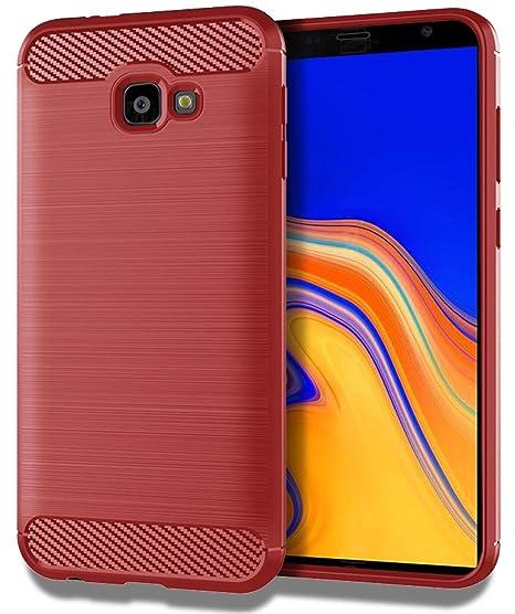 Samsung Galaxy J4 Plus Case,Samsung Galaxy J4 Prime/J4 Core/J4+  Case,Sucnakp TPU Shock Absorption Technology Raised Bezels Protective Case  Cover for