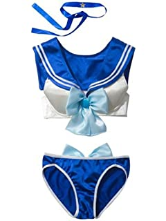 Amazon.com: Cosplay costume traje de baño bikini Sailor Moon ...