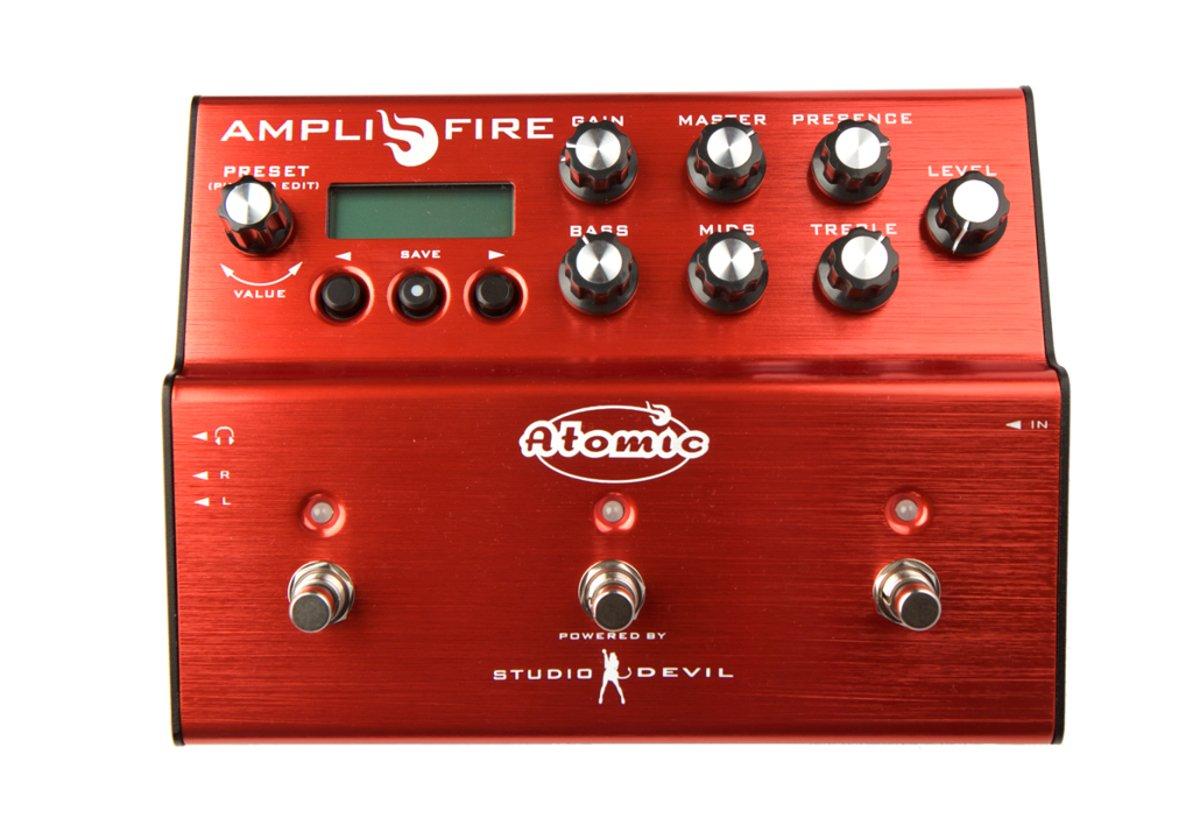 Atomic / Amplifire Pedal モデリング?ペダル B01D4R3OF8