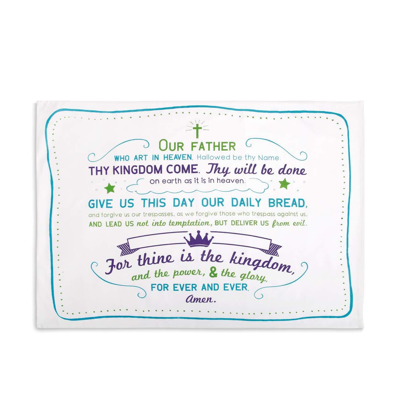 Demdaco The Lord's Prayer Pillowcase
