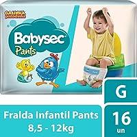 Fralda Babysec Galinha Pintadinha Pants G 16 Unids, Babysec