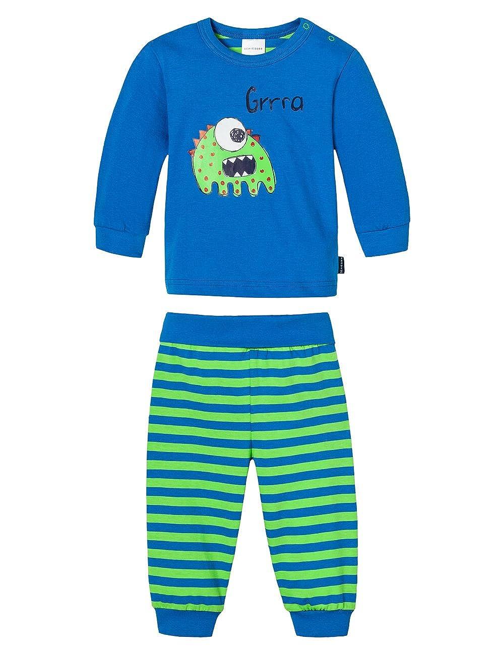 Schiesser Baby - Jungen Zweiteiliger Schlafanzug Baby Anzug 2-Teilig Schiesser AG 146224