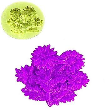 Inception Pro Infinite Molde de Silicona para Uso Artesanal de Flores de Ramo de Margaritas, también Adecuado para Velas: Amazon.es: Hogar