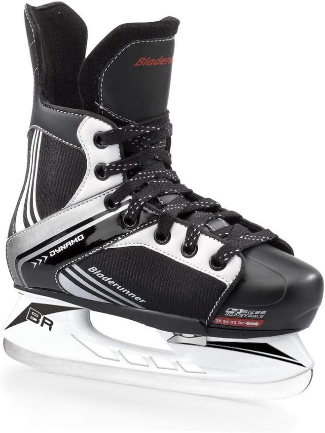 Bladerunner Dynamo Boys Ice Skates ブラック 11J