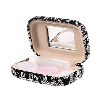 Amazon Com Ezeso Portable Travel Contact Lens Case Box Eye Care Kit