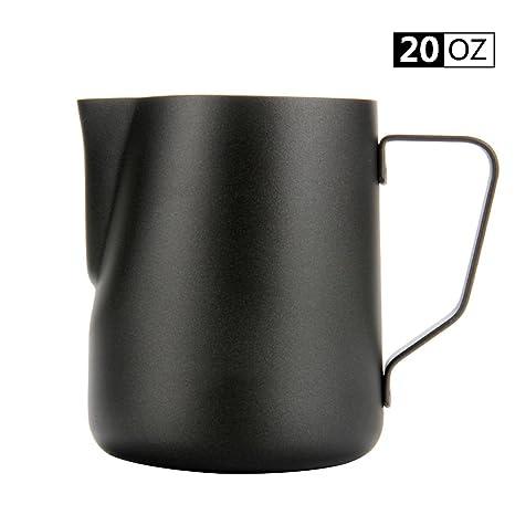 Amazon.com: wehome café Espresso para leche espumosa, acero ...