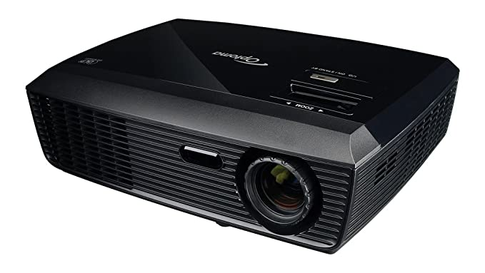Optoma 95.8LG01GC1E - Proyector DLP, negro