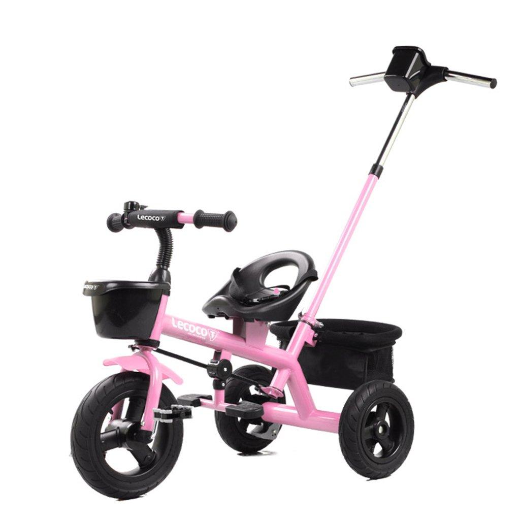 XQ 子供の三輪車の自転車キッズバイク3-6歳のパターのシートベルトは強い 子ども用自転車 ( 色 : ピンク ぴんく ) B07C8YPV79 ピンク ぴんく ピンク ぴんく