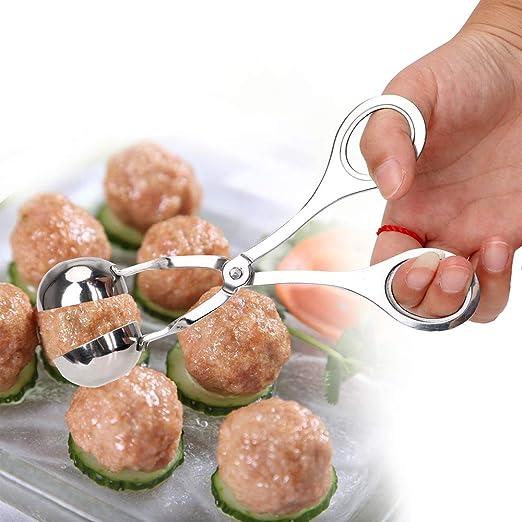 Fleischball-Maker Gef/üllte Fleischball-Maschine aus Edelstahl f/ür Fleischb/ällchen