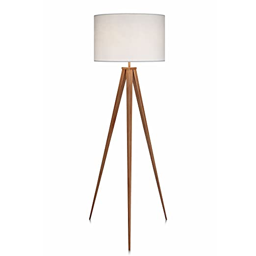 Versanora romanza 153cm tripod floor lamp reading light for living room bedroom foot switch