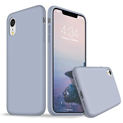 Amazon.com: Funda para iPhone XR, funda de silicona para ...