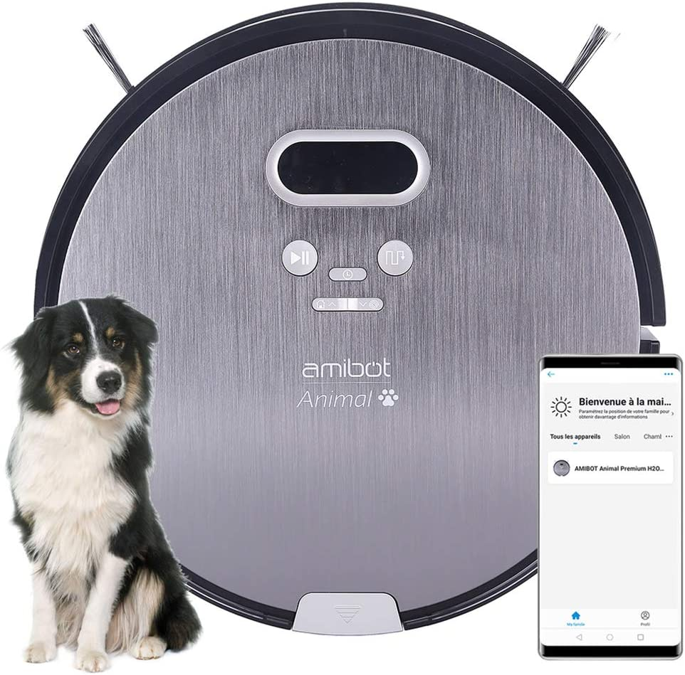 Amibot AMIBOT Animal Premium H2O Connect Aspirateur robot
