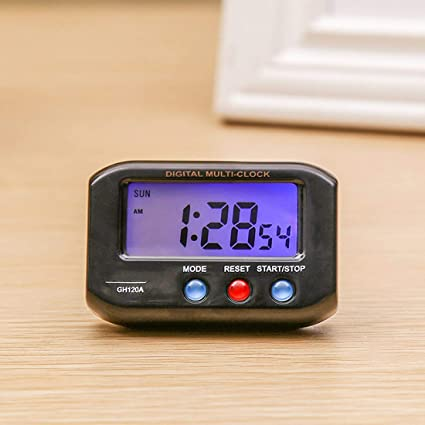 Amazon.com: Alarm Clocks - Mini Pocket Digital Electronic ...
