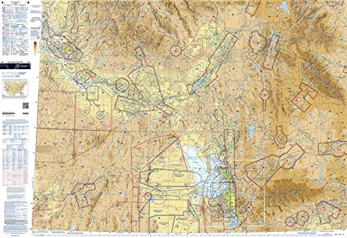 FAA Chart: VFR Sectional SALT LAKE CITY SSLC (Current - Ruby Salt