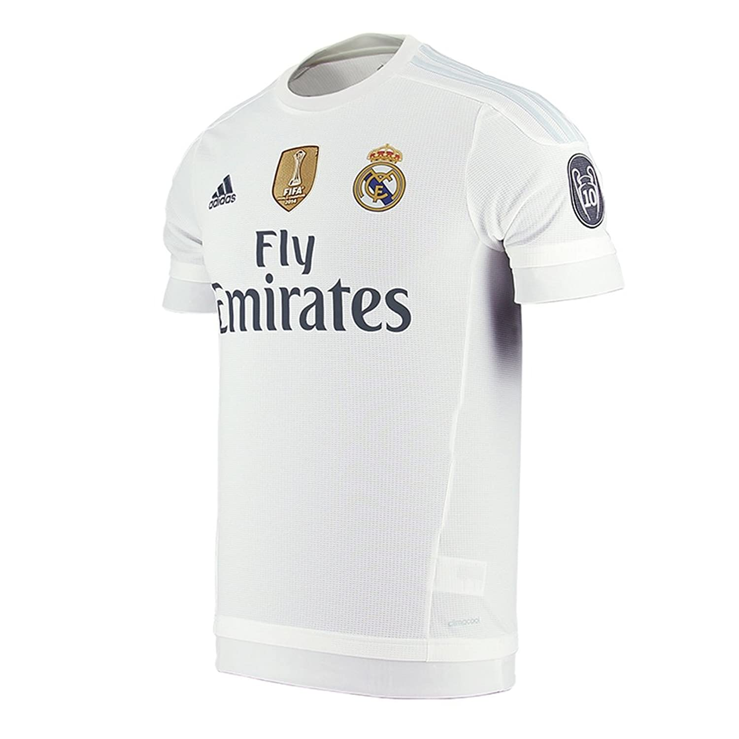 35984ddfd3a ... low cost amazon adidas pepe 3 real madrid uefa champions league home  jersey 2015 2016 uwc