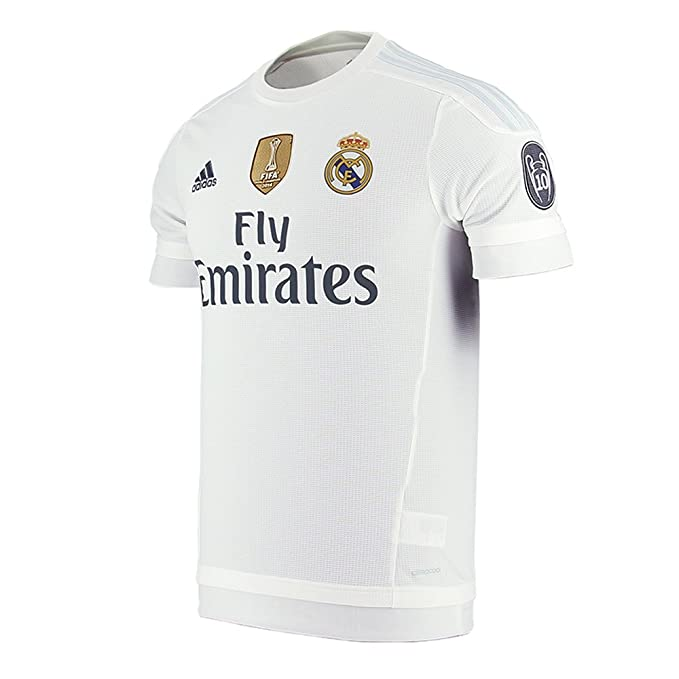 7dd96fdacb3 Amazon.com  Adidas Pepe  3 Real Madrid UEFA Champions League Home Jersey  2015-2016 UWC  Clothing
