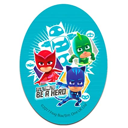 Parches - PJ MASKS Héroes en pijamas ITS TIME TO BE A HERO 1 Disney -