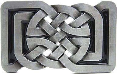 Boucle De Ceinture Celtic Cross Irish Black Medieval Gothic Cool Belt Buckle