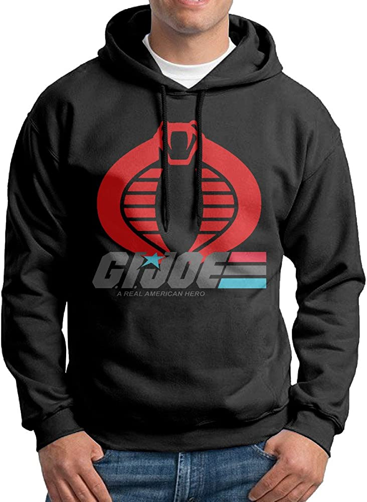 Men's G.I. Joe A Real American Hero Logo Sweatshirt Black
