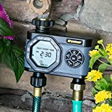 Melnor 4-Outlet Digital Water Timer, Simple and