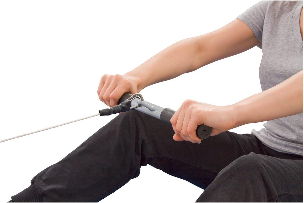 2 Farben Kabel Fitness-Befestigung 68,6 cm /& 88,9 cm Zughilfe schwarz 68,6 cm strapazierf/ähig Trizepseil beschichtetes Nylon-Seil mit Vollgummienden