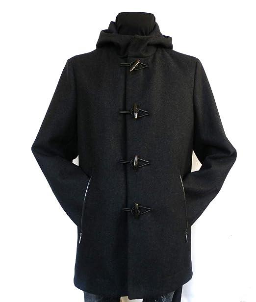 e5bc8247233be Rrd Giubbotto Piumino Cappotto da Uomo Wool Montgomery in Lana Grigio 54
