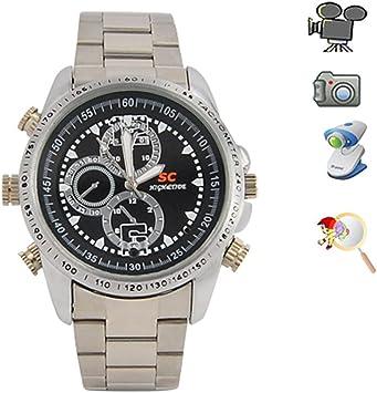 Opinión sobre Flylinktech 8GB Impermeable Relojes con Cámara Oculta Espía Grabador de vídeo Mini DV