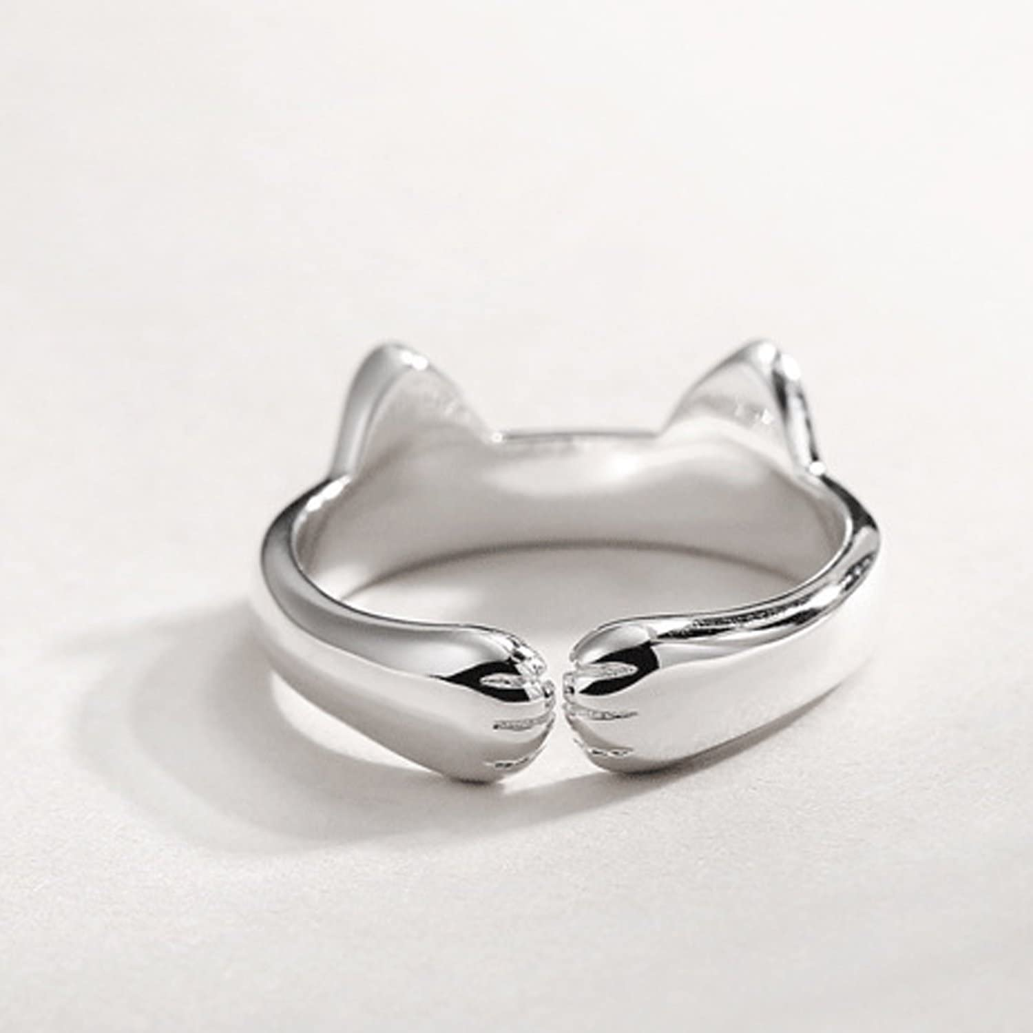 Open Jeweled Rings 925 Sterling Silver Liara Polished and Nickel Free