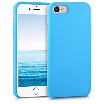 carcasa iphone 7 azul claro