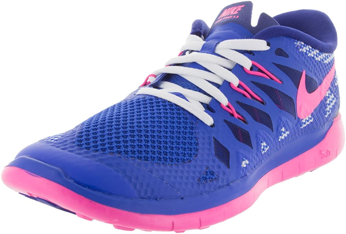 Nike Free 5.0 Blue Youths Trainers 6Y