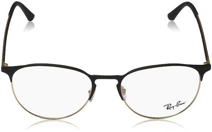 Amazon.com: Ray-Ban RX6375 - Gafas de sol unisex, Negro, 51 ...