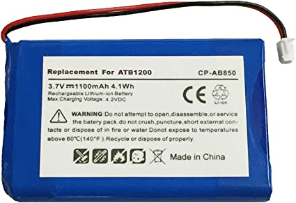 ATB-950-SANUF T2 T2+ Replacement Battery for RTI T1 TheaterTouch 40-210154-17 T1B ATB-950