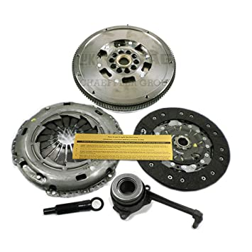 LuK Kit de embrague + esclavo + Volante DMF 02 – 05 VW Golf Jetta GLI