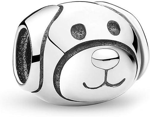 Amazon.com: Romántico Amor Fit Pandora Bracelets Devoted Puppy Dog ...