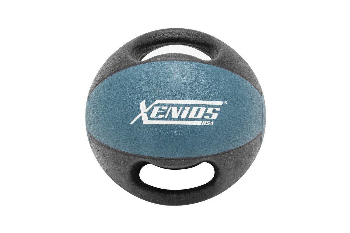 Xenios USA XSDGMBL9 Balón Medicinal con Asas - - 9 Kg Double Grip ...