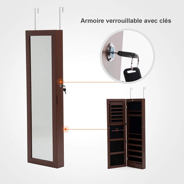mecor Armoire /à Bijoux Suspendus