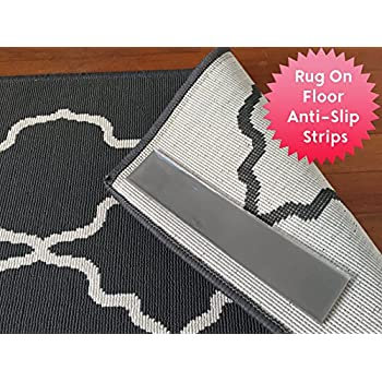 Amazon Com Sticky Strips Non Slip Rug Pads For Rug On