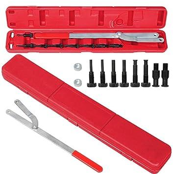 go2buy Polea soporte/ajustable llave, ventilador de embrague equipo de Herramientas Herramientas de mano: Amazon.es: Bricolaje y herramientas
