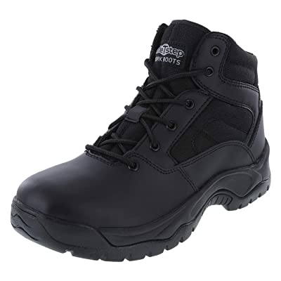 safeTstep Men's Slip Resistant Tactical Work Boot | Industrial & Construction Boots