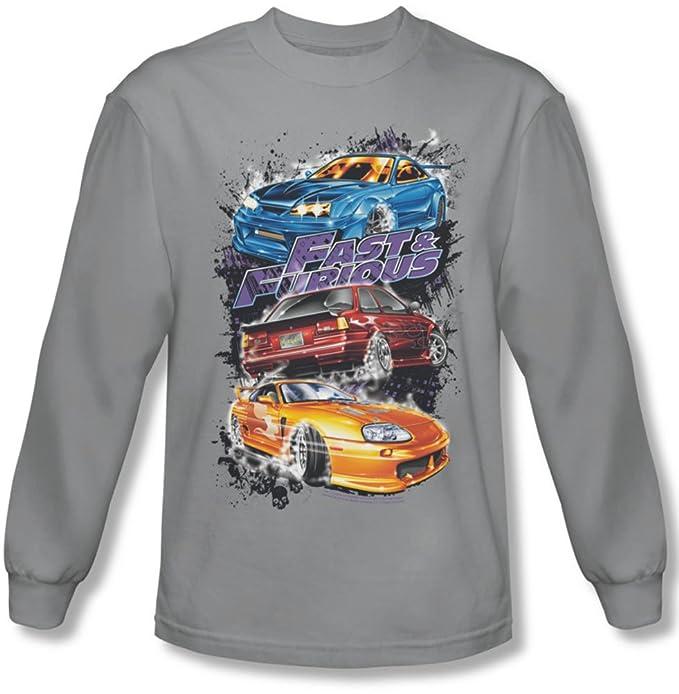 Da Fastamp; Auto Furious Maglietta Con Maniche Lunghe Uomo A cSLq3A54Rj