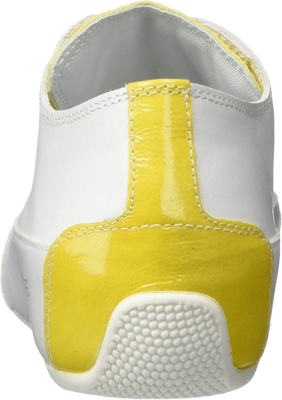 Candice Cooper Rockprofil, Sneakers Basses Femme Blanc Bianco Vitello