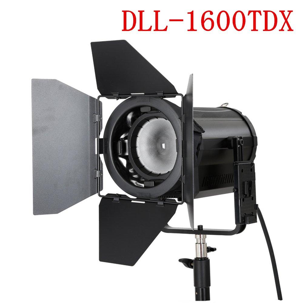 FalconEyes 160W 3000k~8000k 無段階調節可能 スポットライト 撮影用ライト LCD&タッチパネル付き DMXシステム (DLL-1600TDX) DLL-1600TDX  B074PNM4ZK