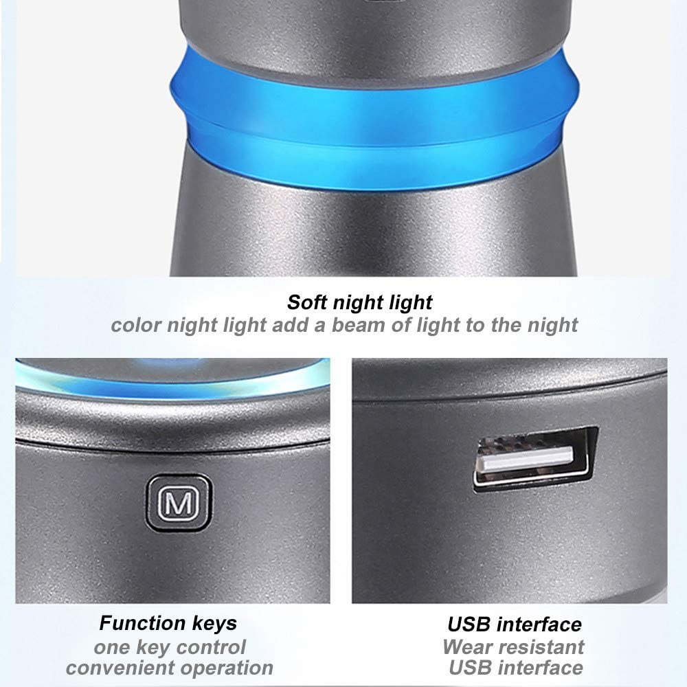Amazon.es: Purificador de Aire del Coche Humidificador de Aire USB ...